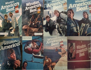 The Winston America's Best Search and Rescue Ads